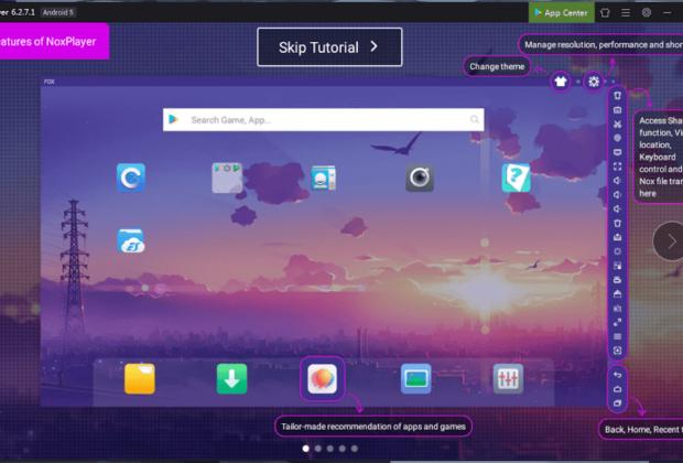 Cara Install Nox App Player di Windows 7/10