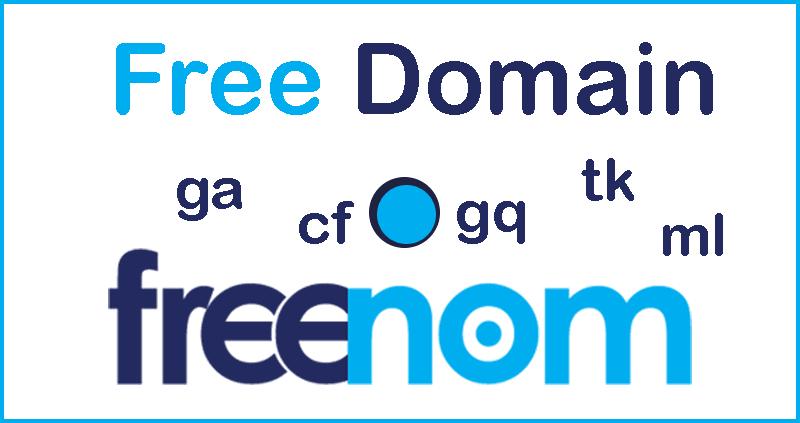 Penyedia Domain Gratis Terbaru 2019