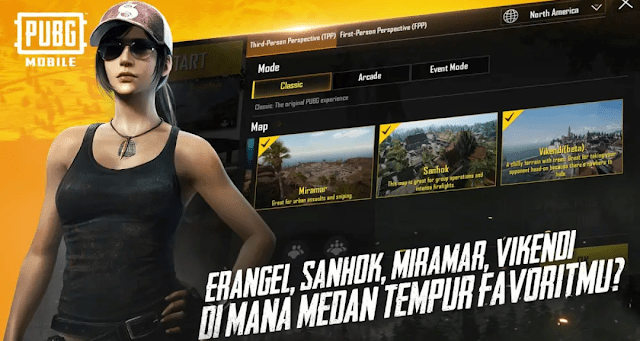 download map sanhok pubg mobile terbaru