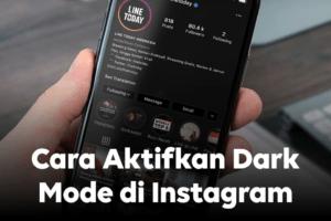 cara mengubah mode malam di instagram