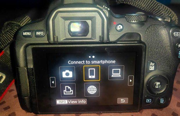 cara transfer foto dari kamera ke hp