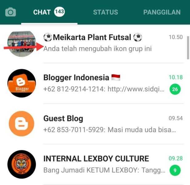 membagikan link grup whatsapp