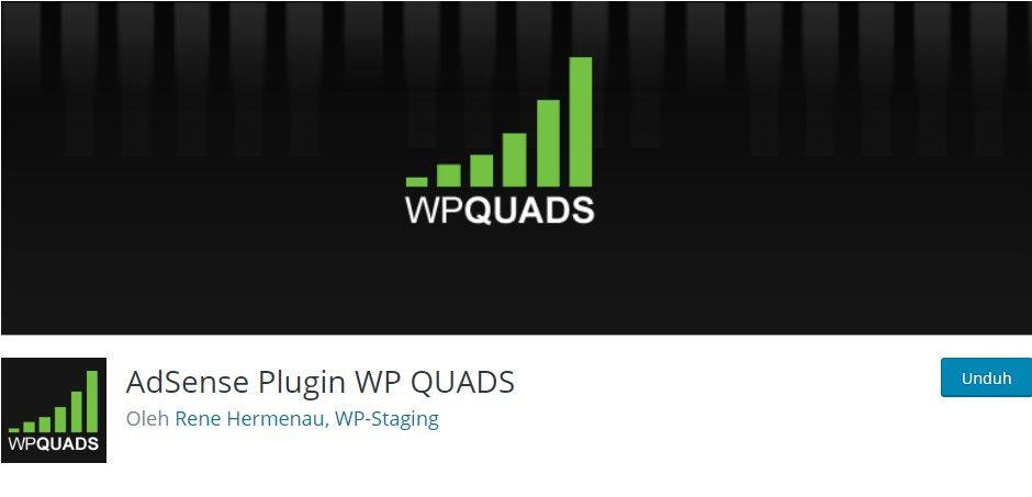 adsense plugin WP QUADS