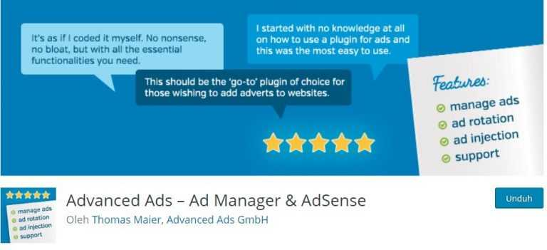 plugin advance ads