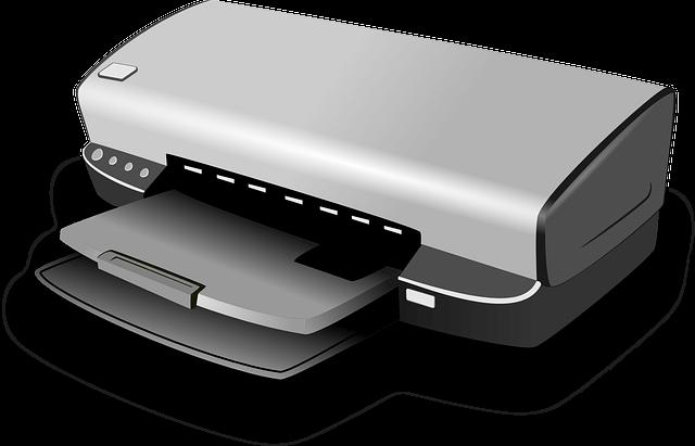 printer output device