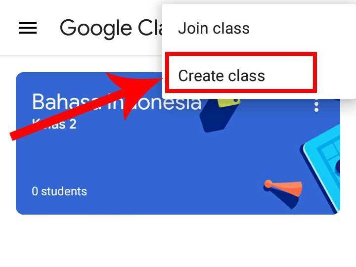 cara membuat kelas online dengan google classroom