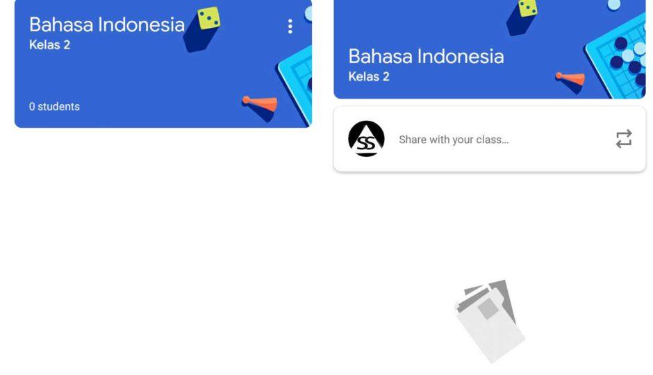 cara buat kelas online di google classrome