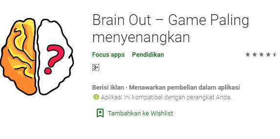 Kunci Jawaban Brain Out Level 14 15 16 17 18 30 100 Benar