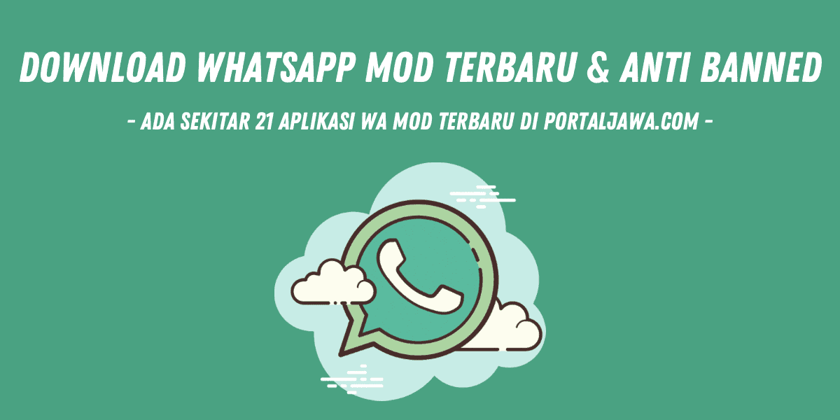 download whatsapp mod terbaru anti banned
